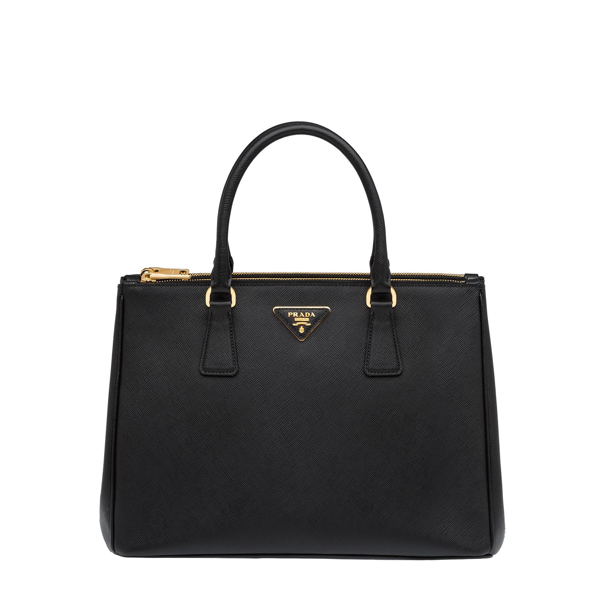 Galleria medium leather bag