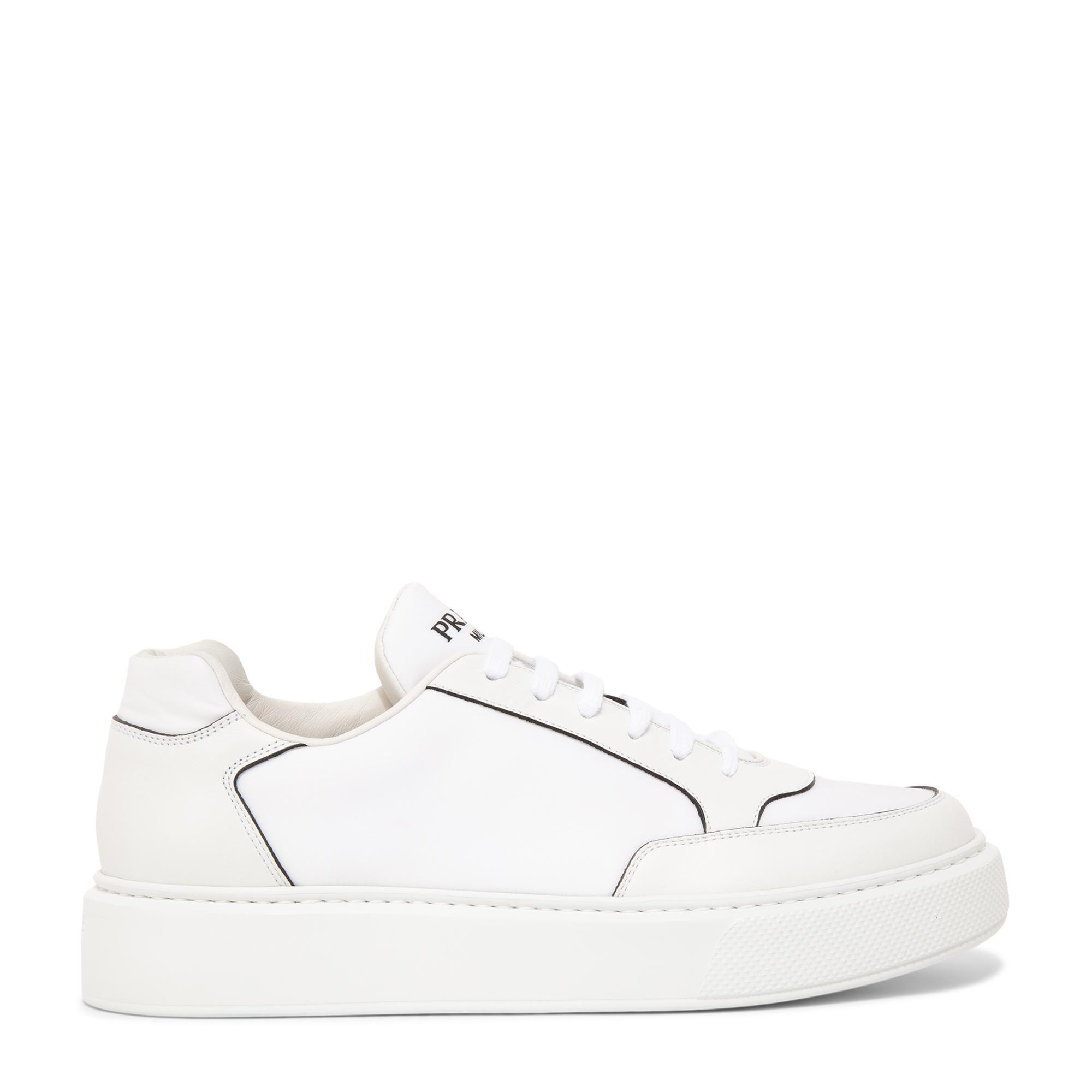 حذاء ماكرو الرياضي من الجلد والنايلون
