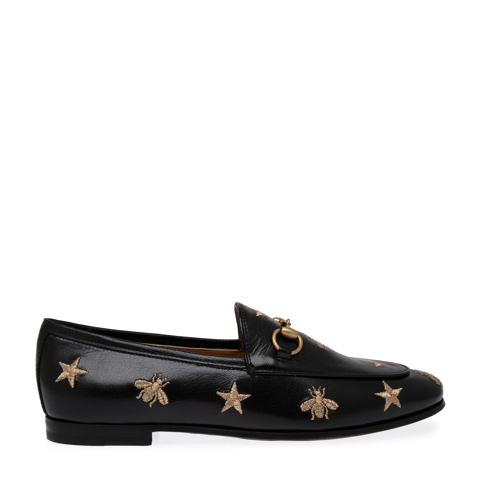 """حذاء الموكاسان المطرز """"جوردان"""""""