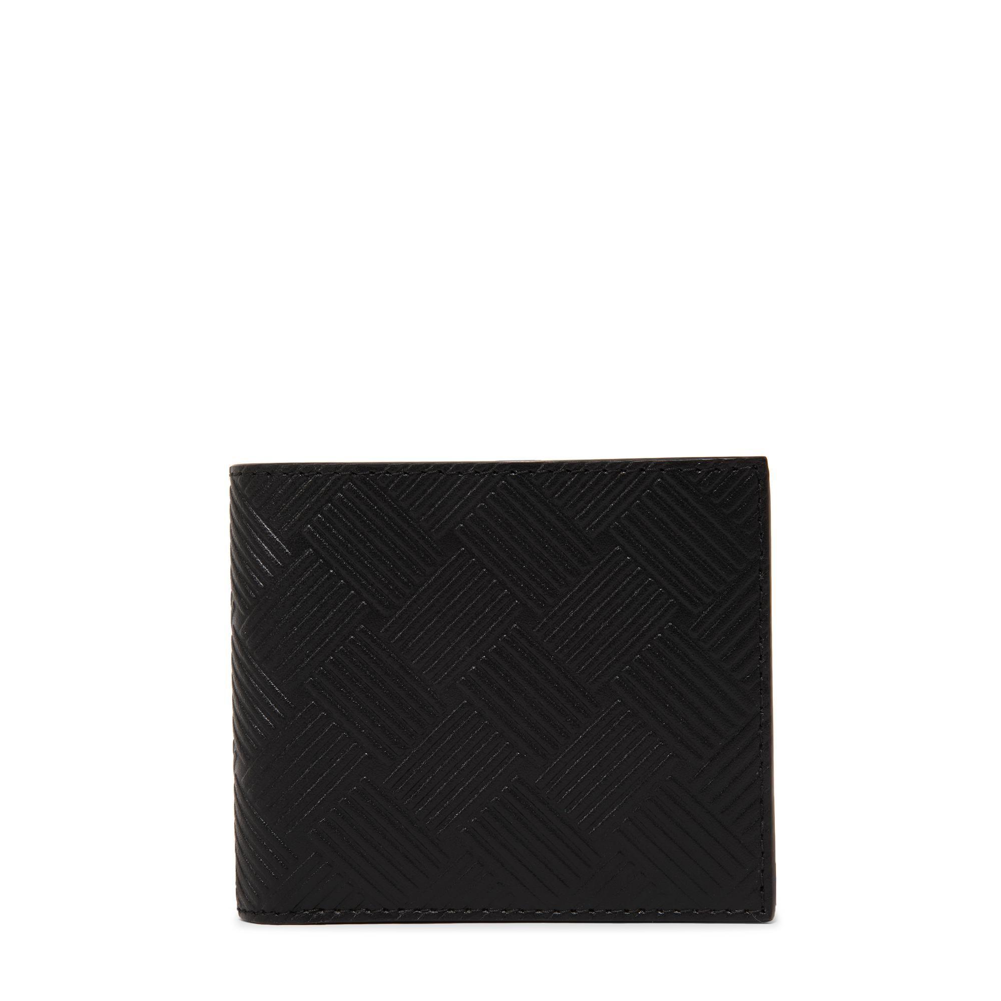 محفظة جلدية بتصميم مطوي