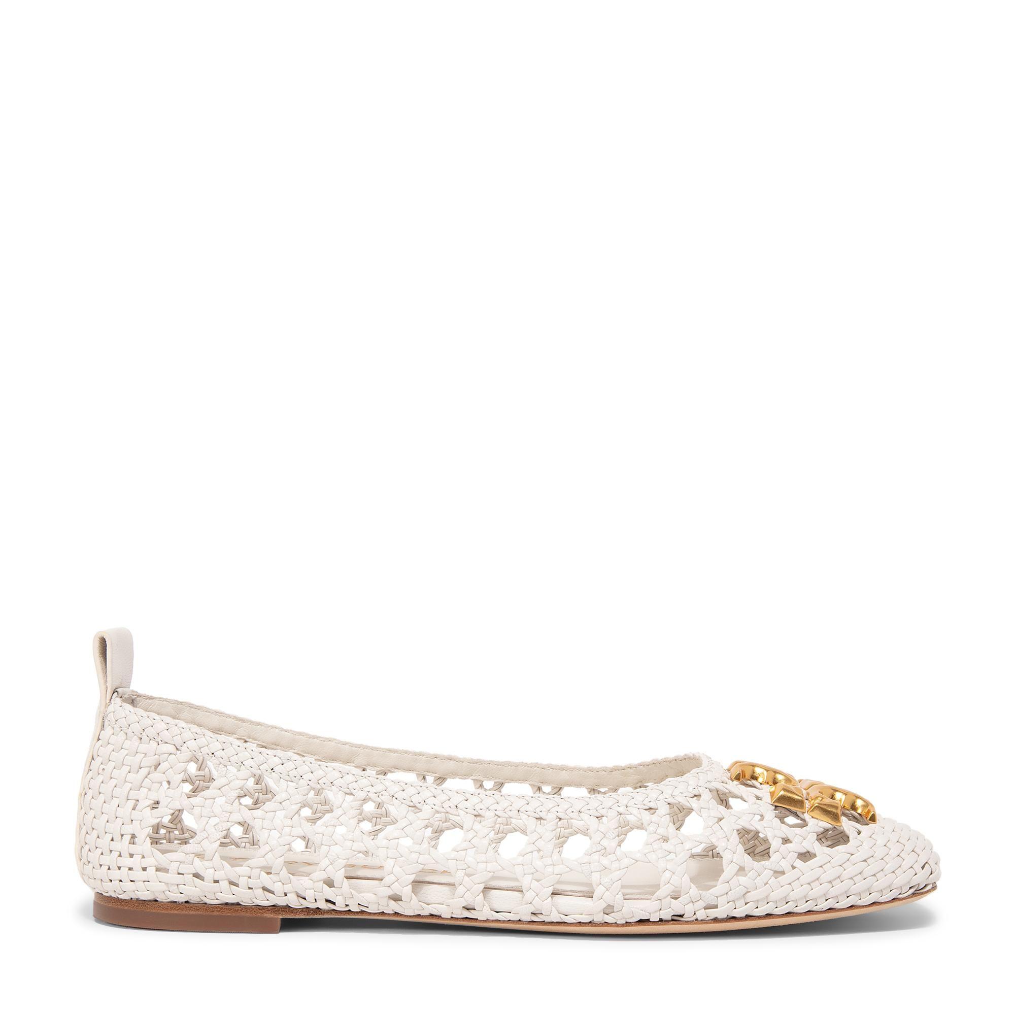 """حذاء الباليه المسطح المنسوج """"إليانور"""""""