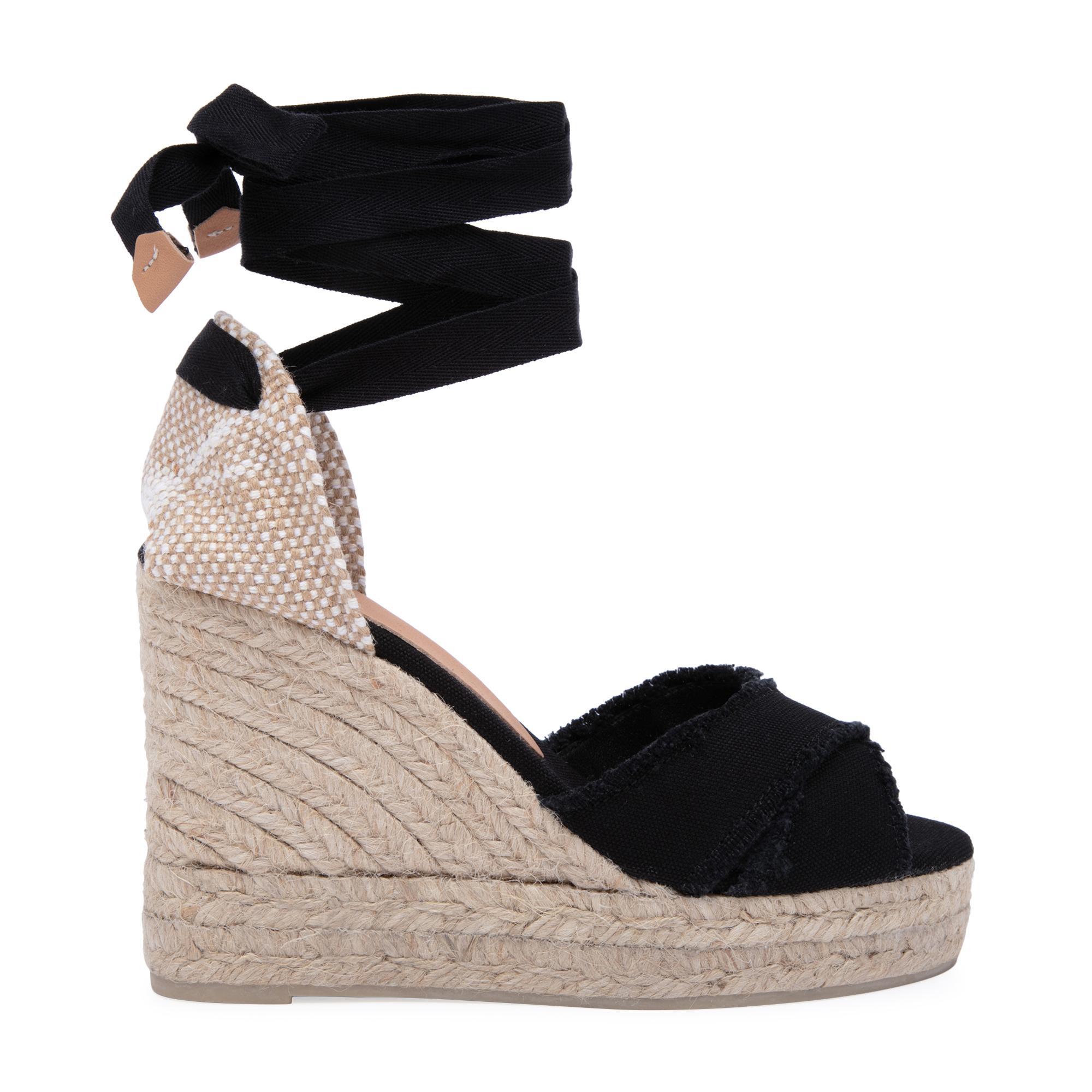 حذاء الإسپادريل بلوما بكعب متصل