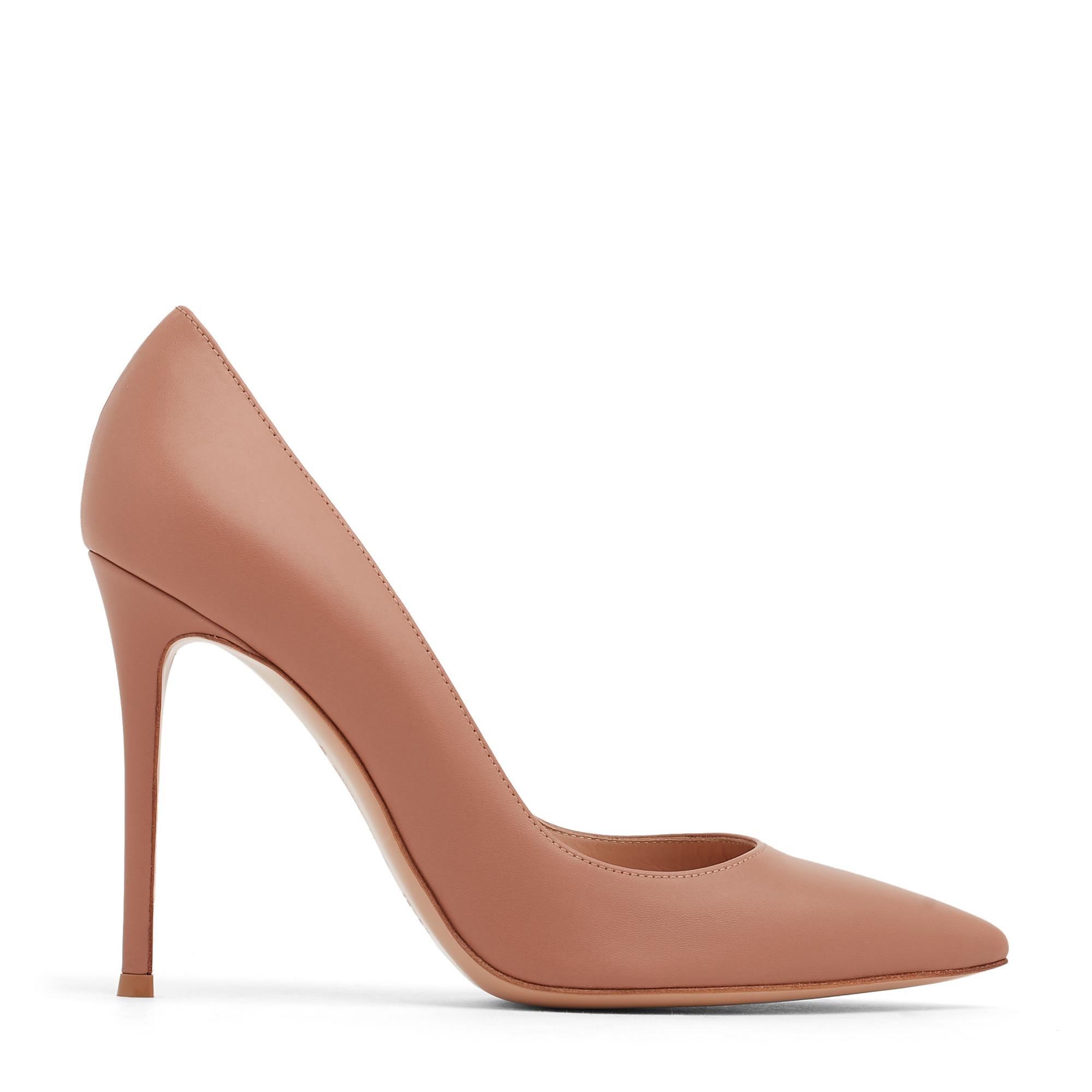"""حذاء """"جيانفيتو"""" العالي الجلدي"""