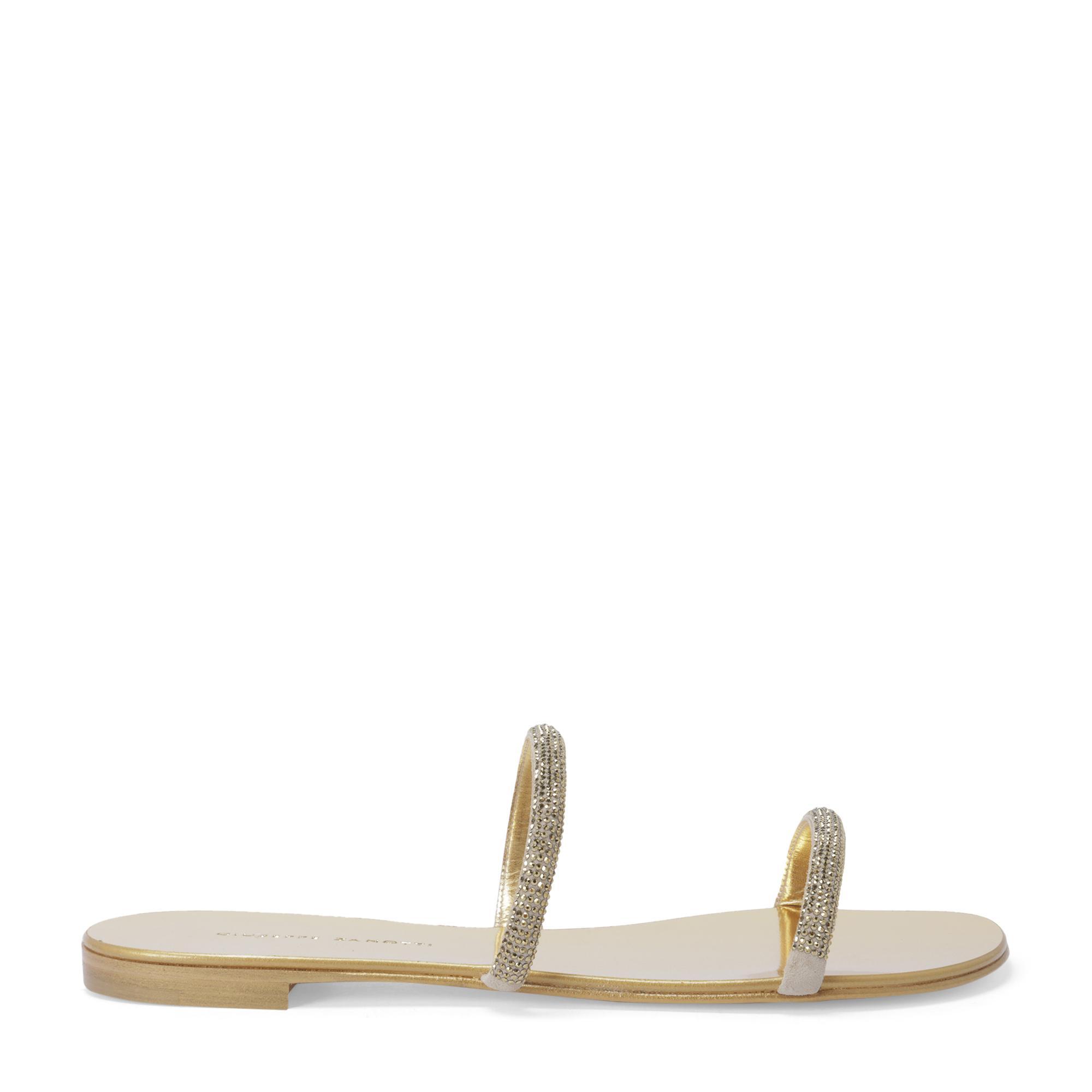 Croisette crystal sandals