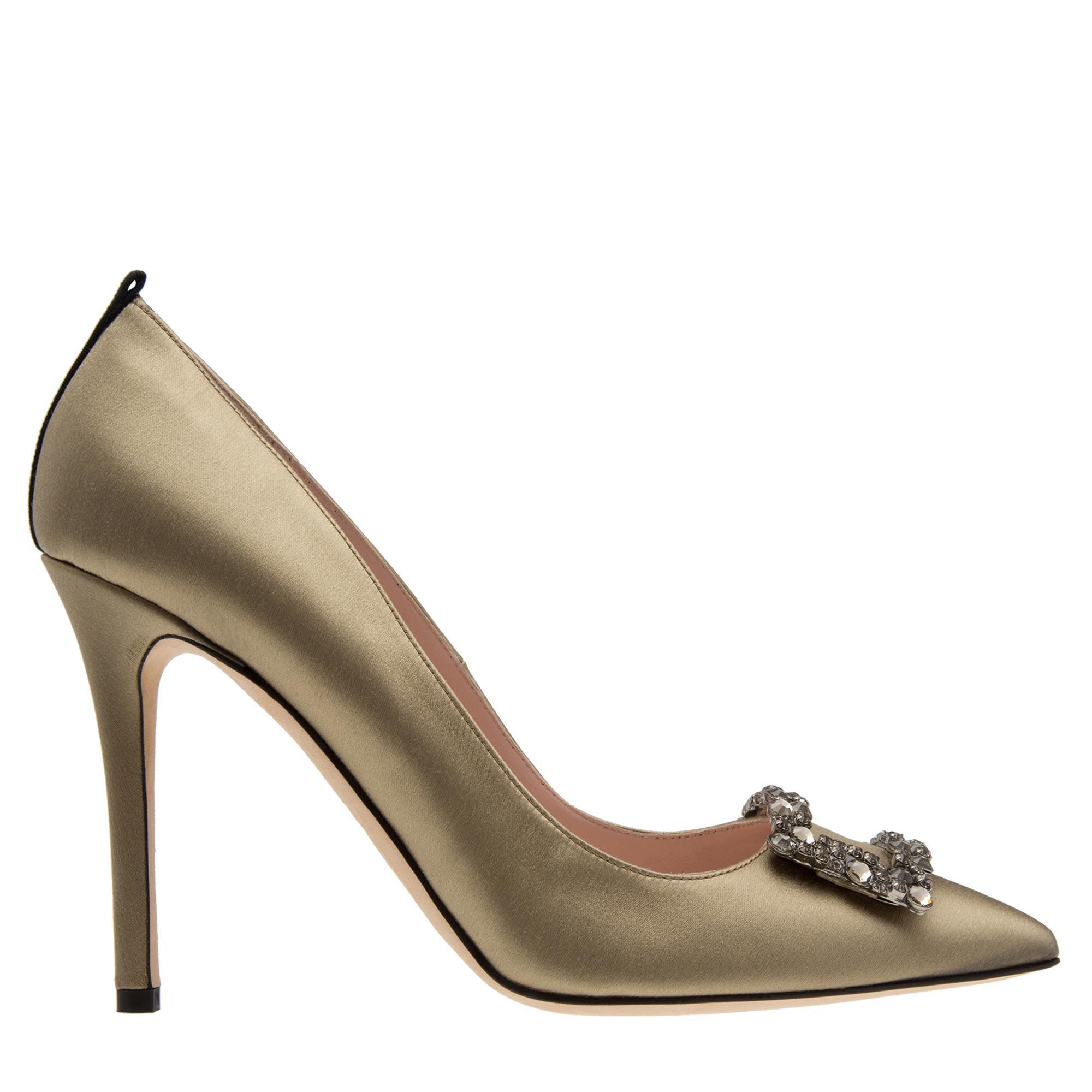 """حذاء """"ماري"""" بالكعب العالي"""