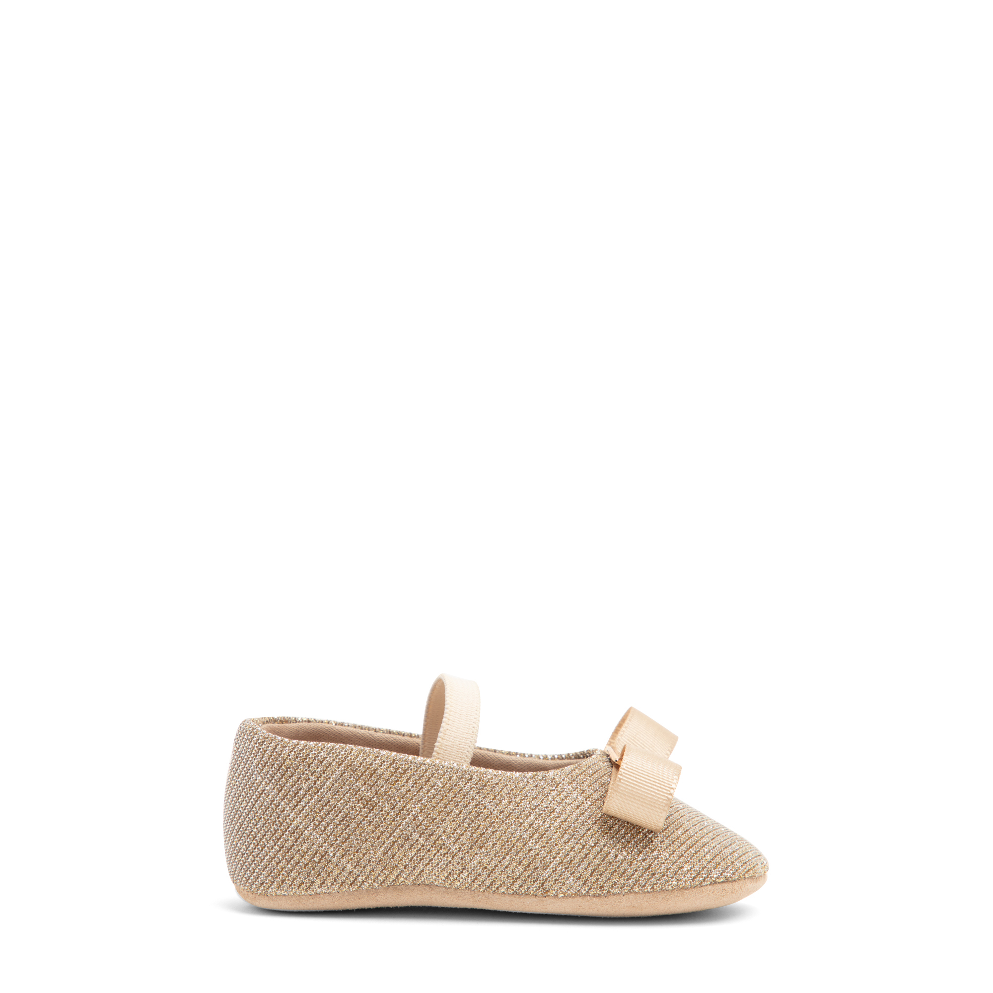 حذاء باليرينا من نسيج قماشي