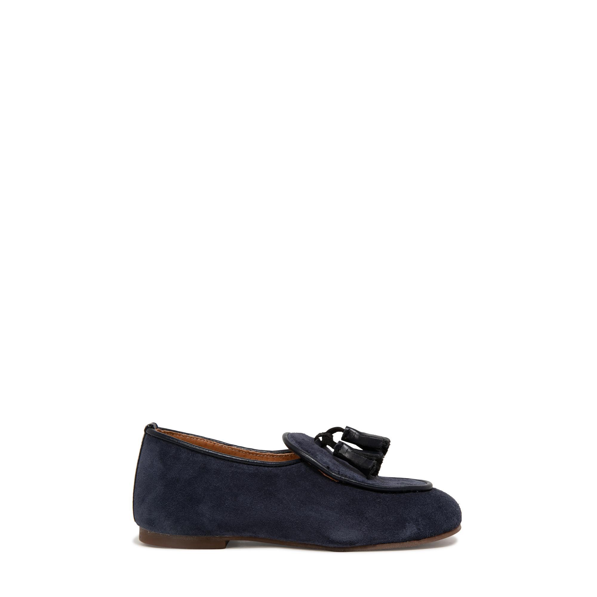 حذاء دون أربطة من الشامواه