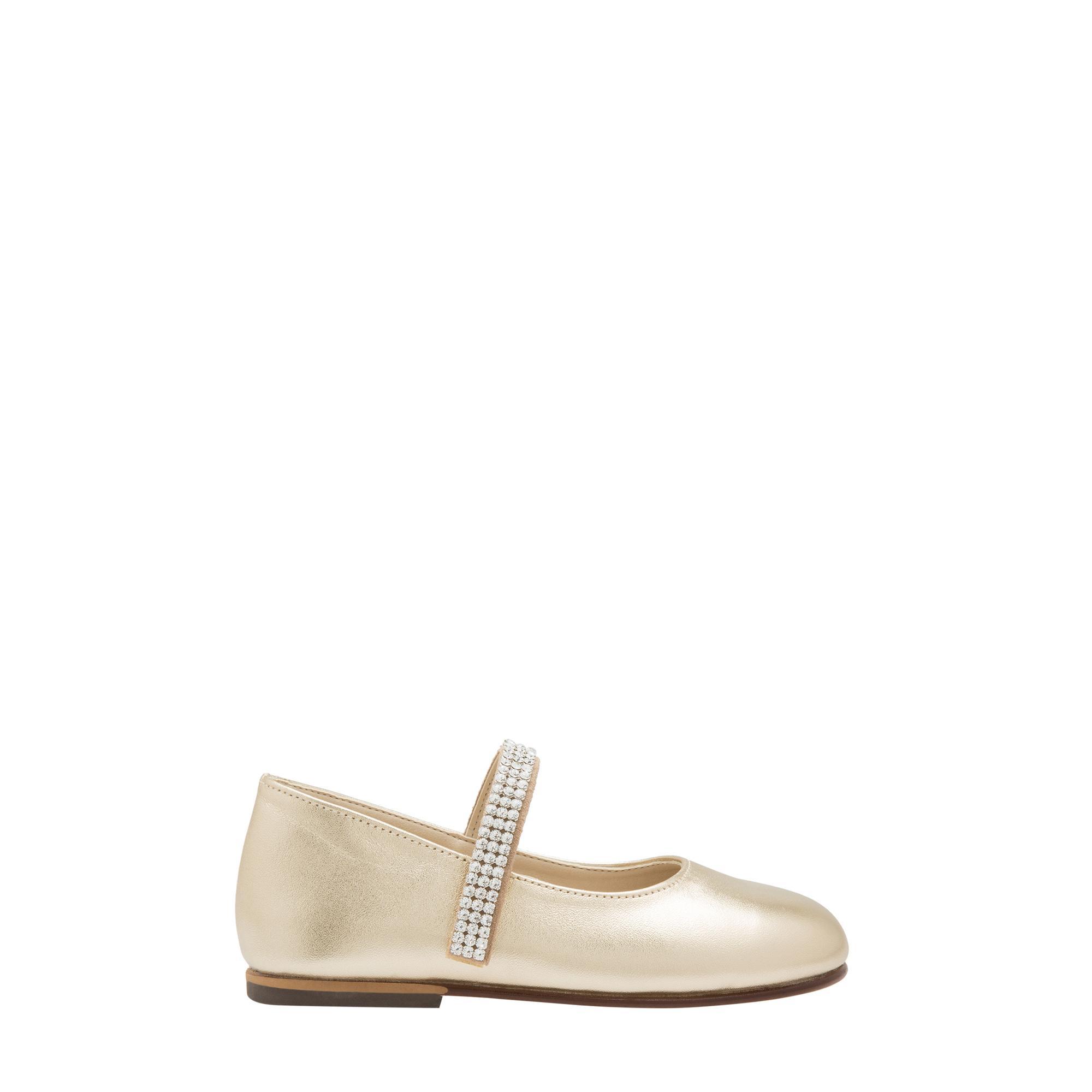 حذاء باليرينا مزين بأحجار كريستال سوارفسكي