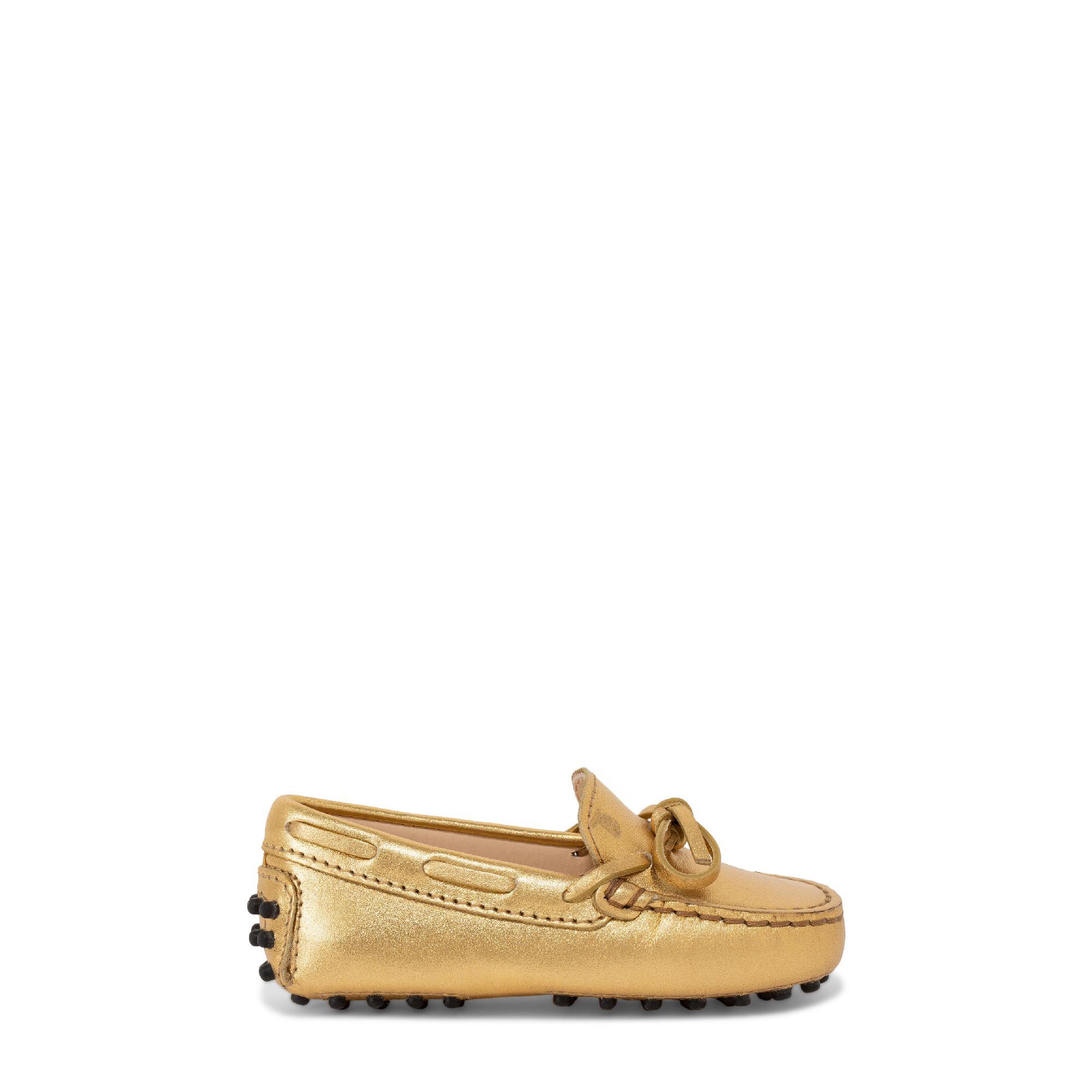"""حذاء الموكاسان الجلدي """"جوميني"""""""