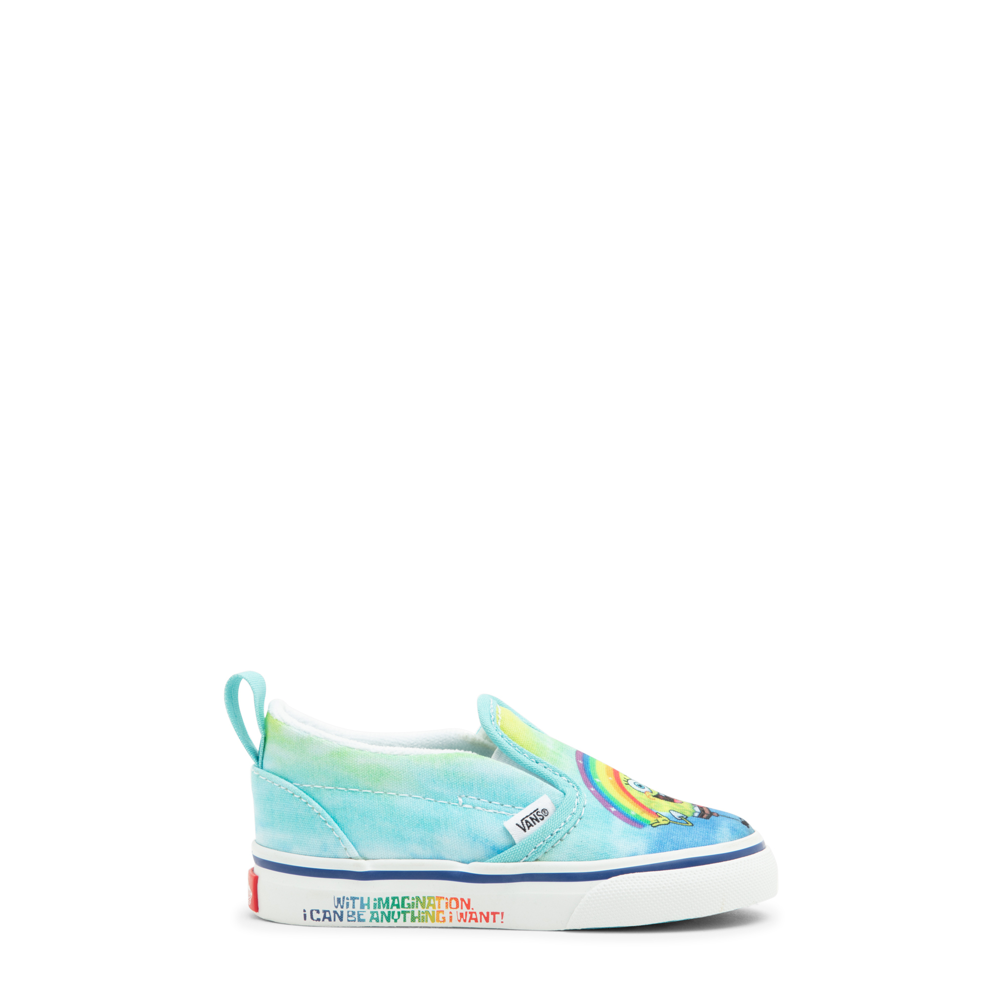 الحذاء الرياضي الكلاسيكي بدون أربطة × سبونج بوب